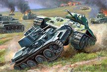 ww2 Russian Tanks