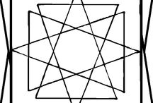 Kleurplaten geometrisch