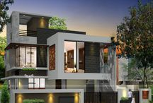 Modern Home Perspective