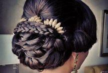 Wedding hairstyles / Hair