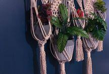 cestas en macrame