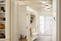 A Place for Style / Closets and Hallways... Beauty in the details.