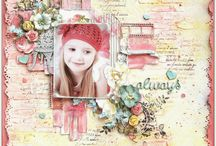Mixed media pages