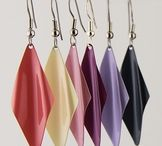 Earring Color Collections / New collections of enameled stainless steel earrings