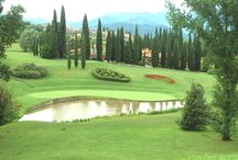 Golf courses Italy, golfbaan Italië / Golf courses in Italy, golfbaan Italië
