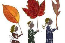 Ma dove ve ne andate... / ...povere foglie gialle, come tante farfalle spensierate? Venite da lontano o da vicino? Da un bosco o da un giardino? E non sentite la malinconia del vento stesso che vi porta via ? Trilussa