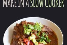 Slow Cooker Meal Ideas