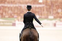 Equestrienne and Equine moments