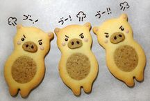 Cookies  macaroon   donut