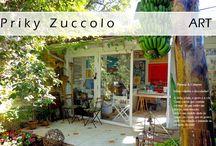 Art & Decor Atelier Priky Zuccolo / Arte, pinturas, collages, aquarelas, decor