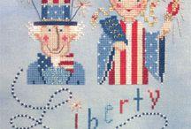 Freebie Cross Stitch / by Tina Bush