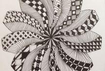 lazító káosz / rajzos meditáció
