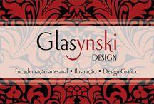 Graphic Design / Design Gráfico de impressos e conceitos criados pela Glasynski Design.