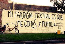 Acción poética / Poemas callejeros