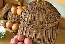 potatoe.and onion baskets