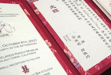 Chinese wedding invites