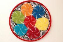 Mandalas / Mandalas elaboradas em crochet e bambolê