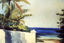 Homer in Bermuda / Winslow Homer watercolor paintings of the Caribbean