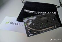 "Teslarati.com - Product Review: ""The Creditor""- Carbon Fiber,Titanium, Money Clip Knife / http://www.teslarati.com/product-review-carbon-fiber-titanium-money-clip-knife/"