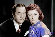 Nick and Nora / My favorite 1930's couple.  Feel free to visit and join my FaceBook group: William Powell and Myrna Loy. https://www.facebook.com/groups/617147358307289/