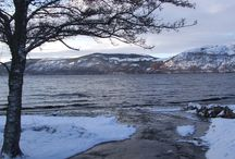 Loch Ness Winter / Loch Ness is stunning any time of the year, but when the ground is covered in snow it takes on a extra magical atmosphere.