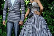 Wedding attires for couples