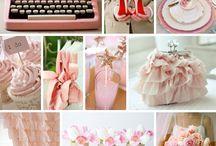 Pretty in Pink / Blush pink wedding inspiration