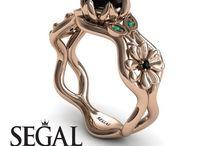 Flower Engagement Ring / Flower Engagement Ring
