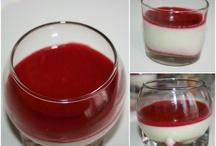 Pannacotta / La recettes sur mon blog :  http://cookinglikebree.com/2013/01/20/la-creme-est-cuite/
