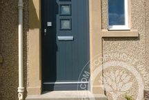 Gray Front Doors / Gray Front Doors, a firm favourite of our customers heres a selection of the best in Gray / greyComposite Doors and Grey front doors. With new manufacturing techniques and our Solidor Timber Composite Doors, we combine traditional style with modern technological advances