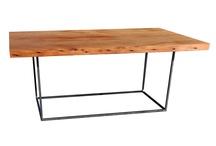 Materials:  Steel & Wood