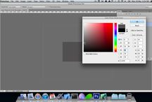 Computer - Photoshop, tutorials