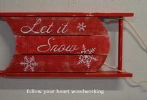 Christmas Wood Decor