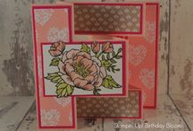 Stampin' Up! Cards on my blog / Ideas and inspiration using Stampin' Up! Products from UK Stampin' Up! Demonstrator Heidi Smith Flutterbyheidi