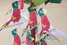 Parrot craft ideas