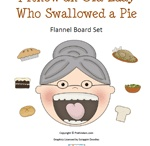 Book Activities - I Know an Old Lady Who Swallowed a Pie