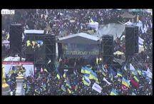 Ukraine's capital Kiev gripped by huge pro-EU demonstration