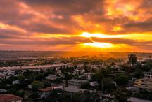 Steven Cox Instagram Photos #Sunset over Pt Loma tonight. Always grateful to be living in the best city on earth. #sandiego #clouds #california