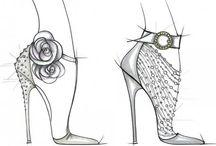 shoes bocetos