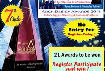 Attention all architects / Attention all architects, designers, structure engineers, infrastructure professionals ! This could be the best chance to attend the biggest architecture's gala night of the year with NO ENTRY FEE!   Register now and  you cloud be the next winner of ArchiDesign Awards 2014 http://www.archidesignawards.com/register/