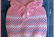 sacos de calcinhas em crochet