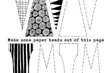 bijoux papier