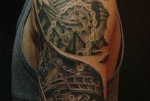 steam tattoo