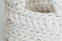cesta in crochet