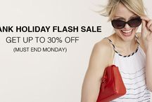 BANK HOLIDAY FLASH SALE UP TO 30% OFF / BANK HOLIDAY FLASH SALE UP TO 30% OFF ONLINE NOW