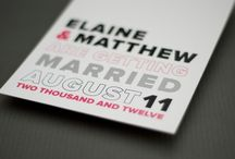 wedding invitations / ideas for clients