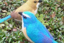 Felted Birds