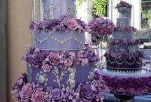 Fit for Royalty / Nothing says royal elegance like grey and purple hues. Blended together in flawless design they are stunning!