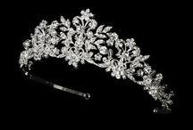 Crystal Bridal Tiaras / Crystal bridal tiaras for the elegant bride.