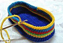 crochets shoes